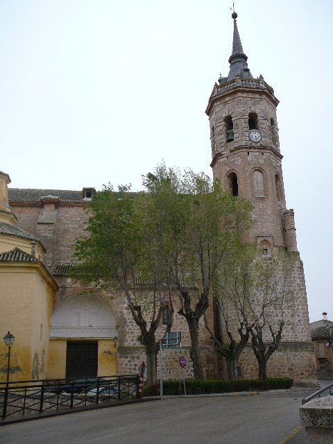 Tembleque Eglise