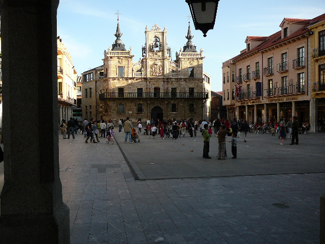Astorga La Plaza Mayor